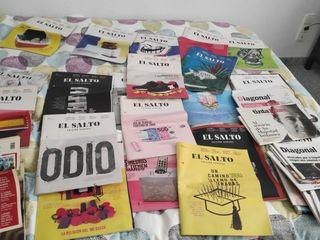 lote revistas el Salto Diagonal y Tinta Libre