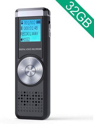 Grabadora de Voz Digital 32G