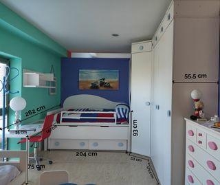 Dormitorio juvenil de exposición