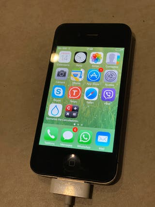 Iphone 4 32 GB,NEGRO Y CARGADOR