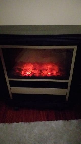 Estufa imitación chimenea