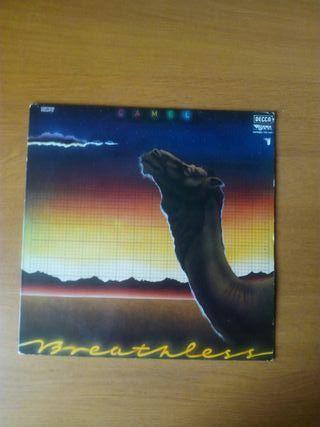 """Vinilo de Camel """"Breathless"""""""