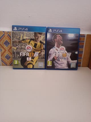 Pack PS4 fifa 17 y fifa 18
