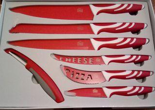 Set 7 cuchillos