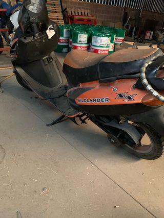 Despiece Wildlander 50cc