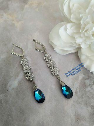 Pendientes de cristal Swarovski joyería joya joyas