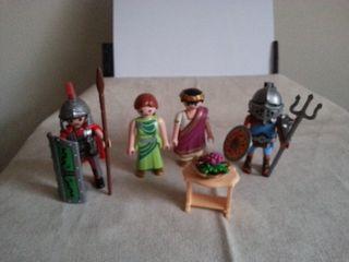 Playmobil romanos cesar soldados gladiadores 4632
