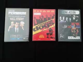 - Wall Street - Reservoir Dogs - Cop Land