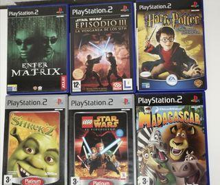 Variedad juegos play 2
