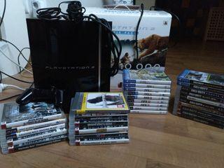 Playstation 3 & Mando & Videojuegos & Caja Origin.