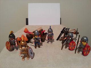 Playmobil romanos gladiadores soldados egipcios