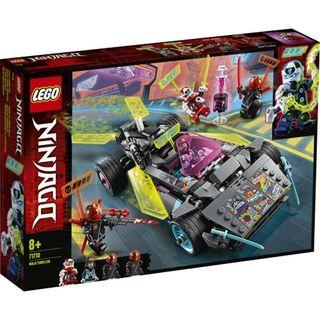 71710 Lego Ninjago Coche Ninja Tuneado