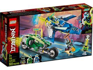 71709 Lego Ninjago Vehículos Supremos de Jay y Ll