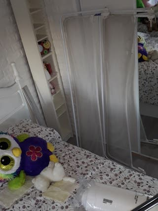 barra protección niño o niña bebé cama