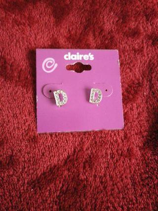 Claire/'s Claires Accessories oficial pendientes Pluma Blanca Rosa PVP £ 7