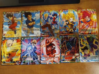 Dragon Ball Super Card Game Expansiones 9 y 10