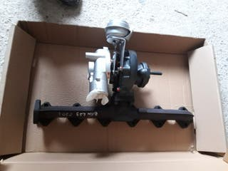 colector y turbo bmw 530 e39