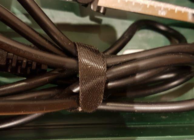 50 bridas velcro doble cara organizador de cables