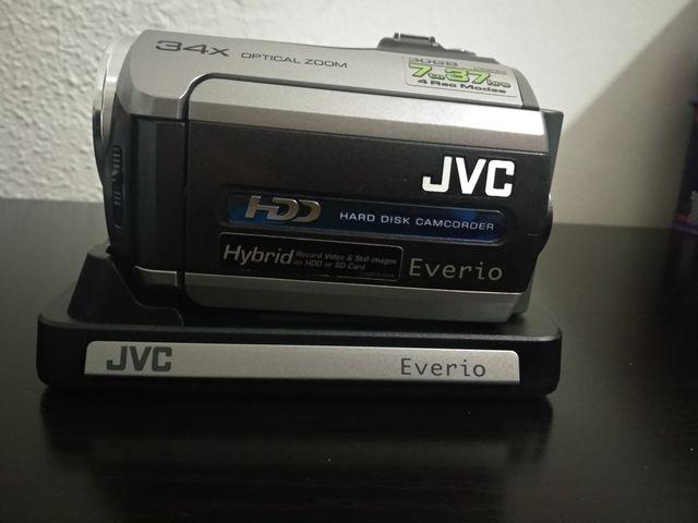 JVC videocámara