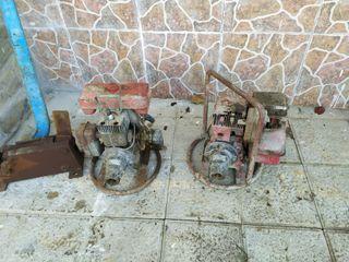 2 motores vibradores gasolina y aguja vibradora