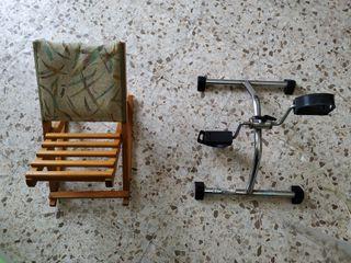 Reposapiés y pedales, geriátrico, 3a edad