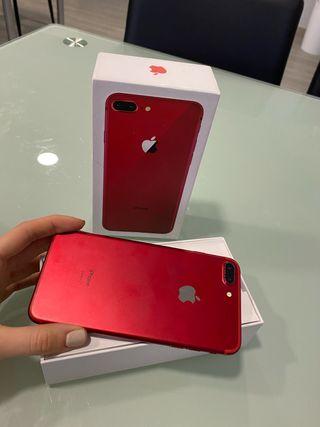 iPhone 7 Plus 128gb rojo