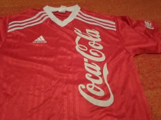 camiseta adidas retro coca cola vintage