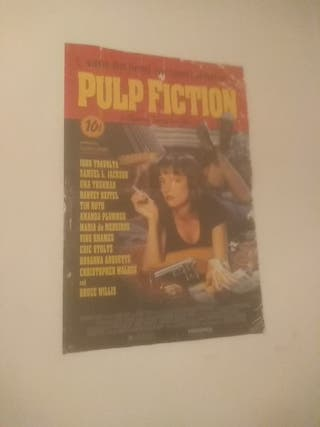 poster cartelera Pulp Fiction