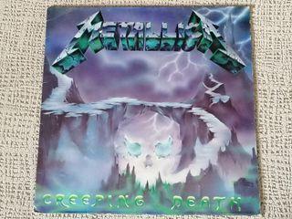 """maxi single 12"""" vinilo METALLICA """"CREEPING DEATH"""""""