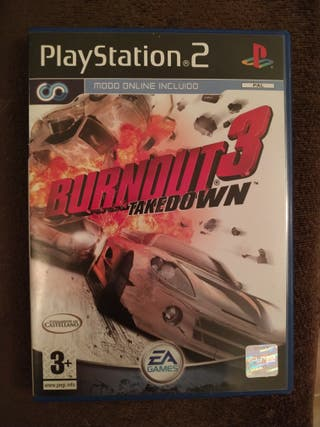Burnout 3 play station