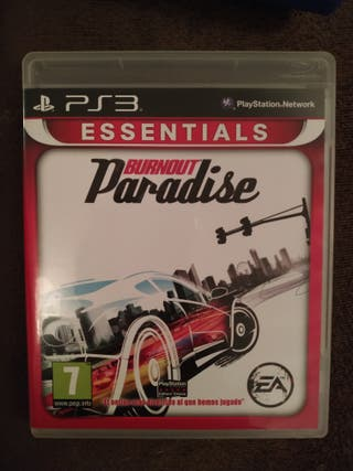 Burnout paradise - play station