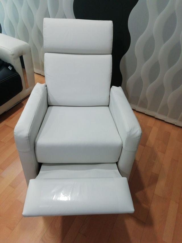 Sofá Relax Blanco