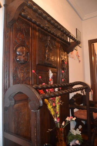 entrada castellana madera