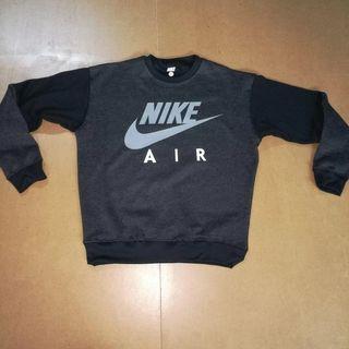 Sudadera Nike Air Gris