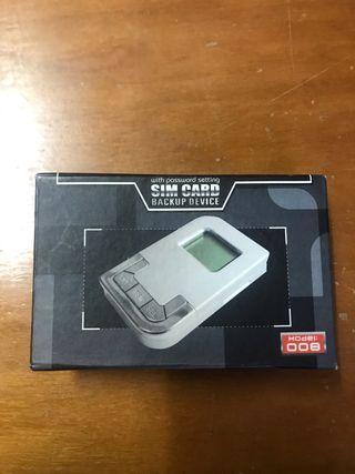 Grabadora tarjeta SIM