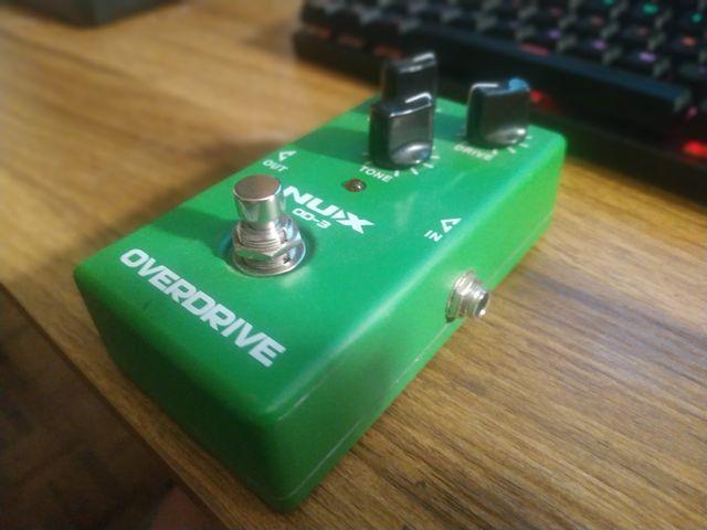 overdrive guitarra NUX OD-3