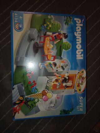 heladería Playmobil
