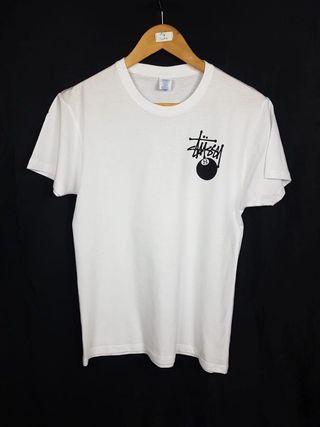 Camiseta Stussy Blanca