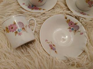 juego de 6 tazas de té de porcelana china