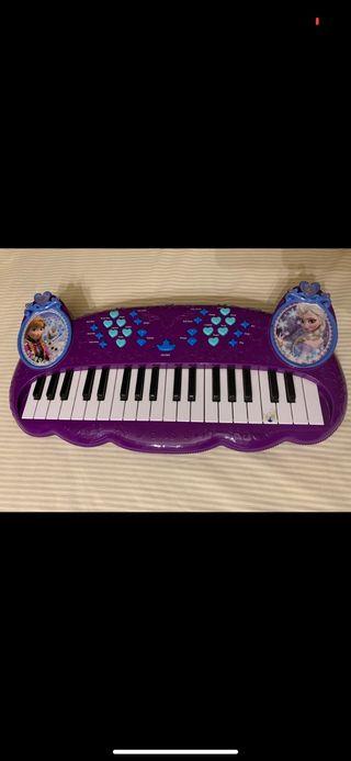 Piano teclado Frozen