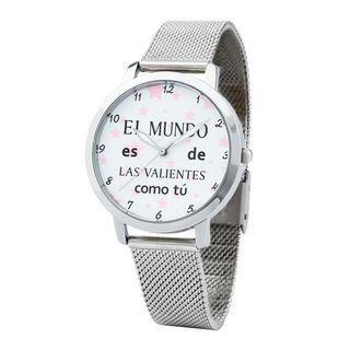 Reloj brazalete acero envios contra reembolso