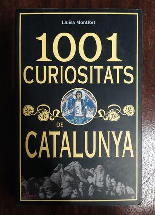 Llibre 1001 Curiositats de Catalunya.