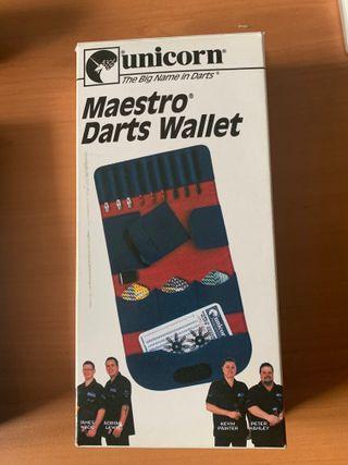 Dardos Dardera unicorn maestro wallet. NUEVA!