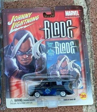 Coche Blade Johnny Lightning Marvel 2003