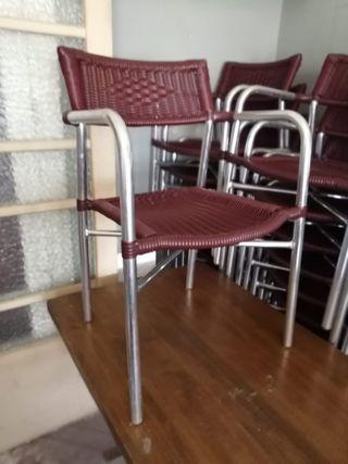 sillas terraza segunda mano