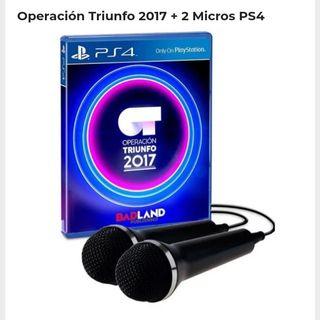 nuego play 4 karaoke operación triunfo