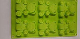 Molde de silicona ositos