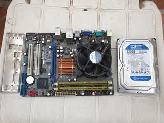 Placas Base Intel Socket 775 varias con acesorios