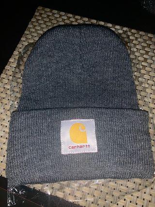 Gorro gris carhartt nuevo