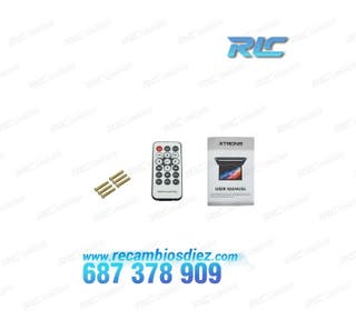 "PANTALLA DE TECHO DE 12,1"" HD CON HDMI 1080P USB S"